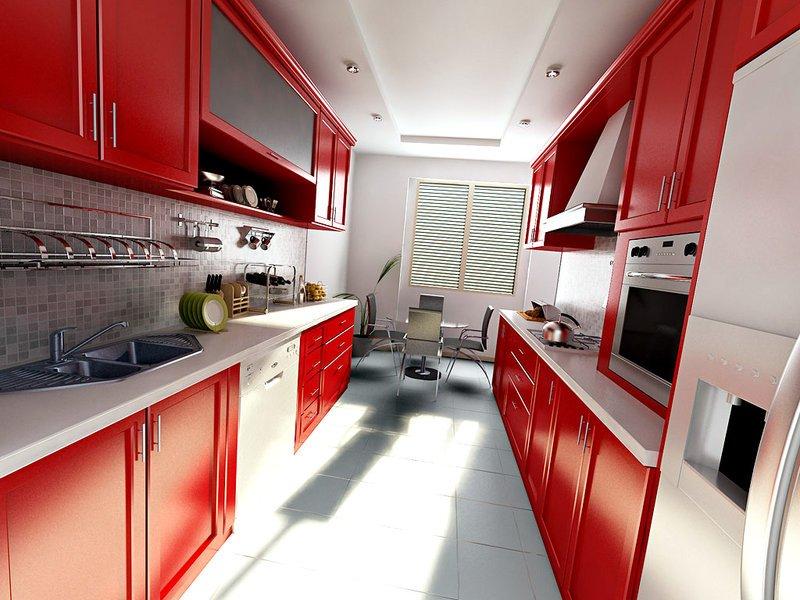 Дизайн кухни 9 кв м длинная