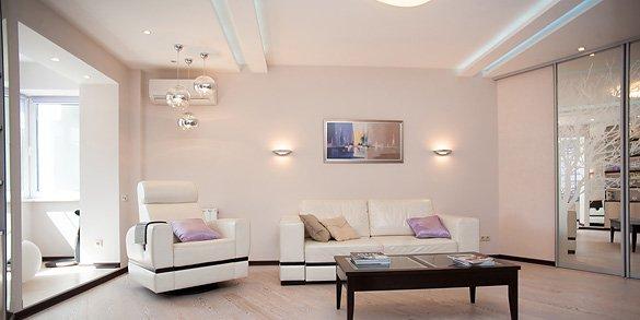 Дизайн проект трехкомнатной квартиры фото