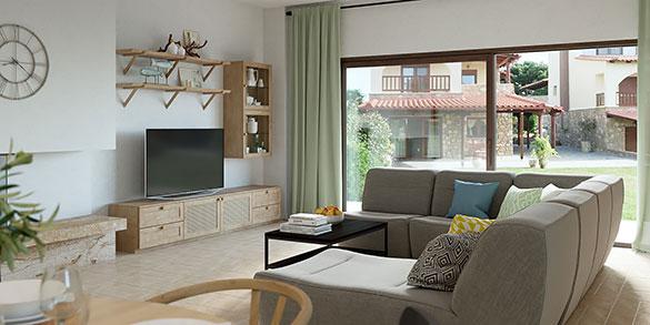 Дизайн проект дома в Греции
