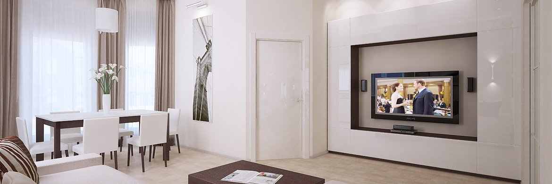 Дизайн интерьера таунхауса
