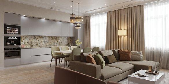 Дизайн хрущевки 2 комнаты: проекты, оформление